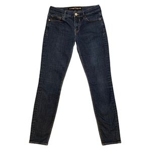 Express Blue Mid Rise Jeans